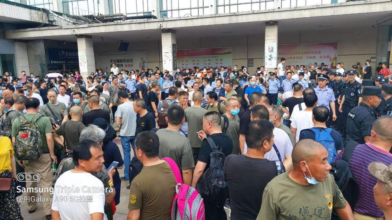 【一線採訪】長沙老兵集結 呼籲討還公道