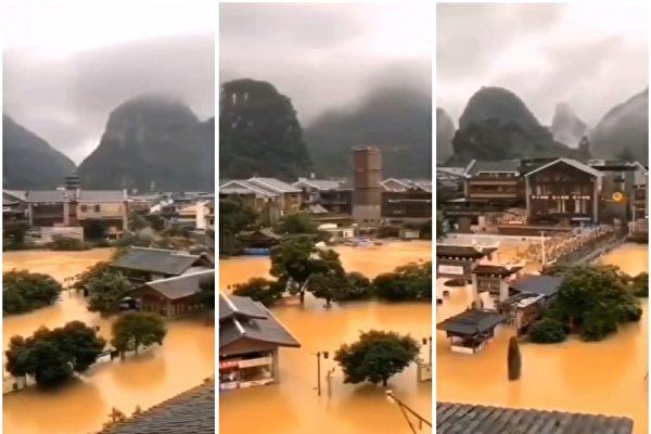 【一线采访】遭遇洪灾 广西灾民:政府不作为