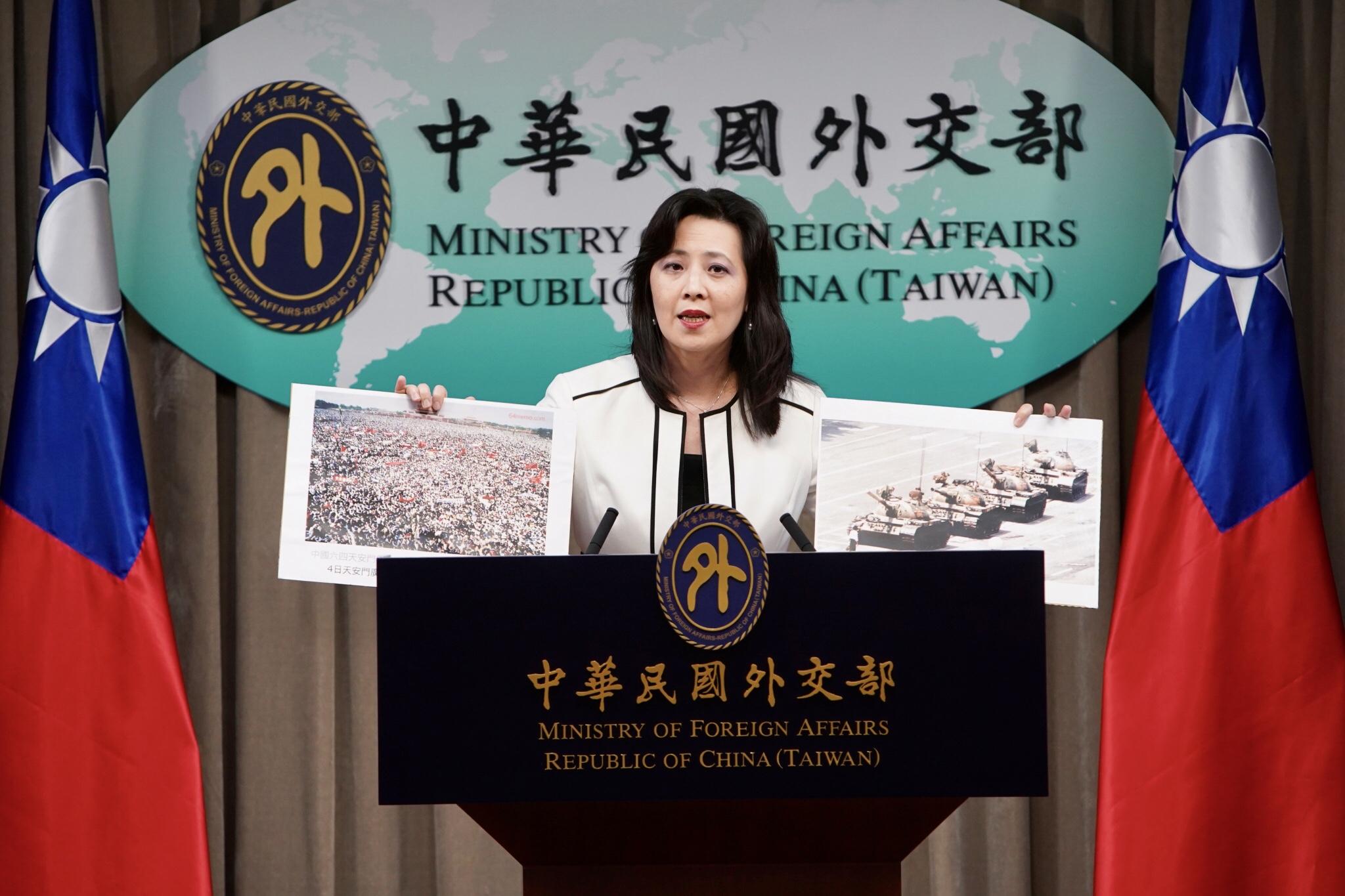 中共外交官闖台外館國慶酒會打傷人 台灣抗議