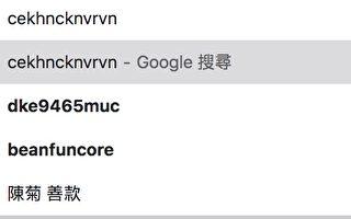Google搜尋竟推薦「陳菊善款」 學者:誰想炒作?