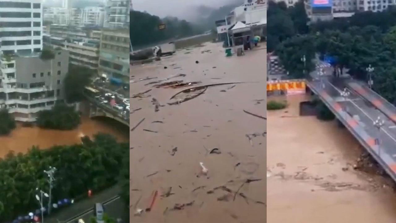 官媒冷處理重慶洪災 中共嚴控網民言論