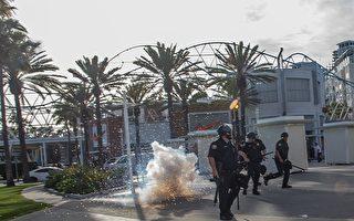 示威活动波及橙县多市 商家选择关门避险
