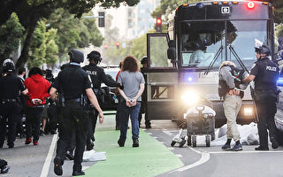 聖莫尼卡400暴民被捕 95%非本地人