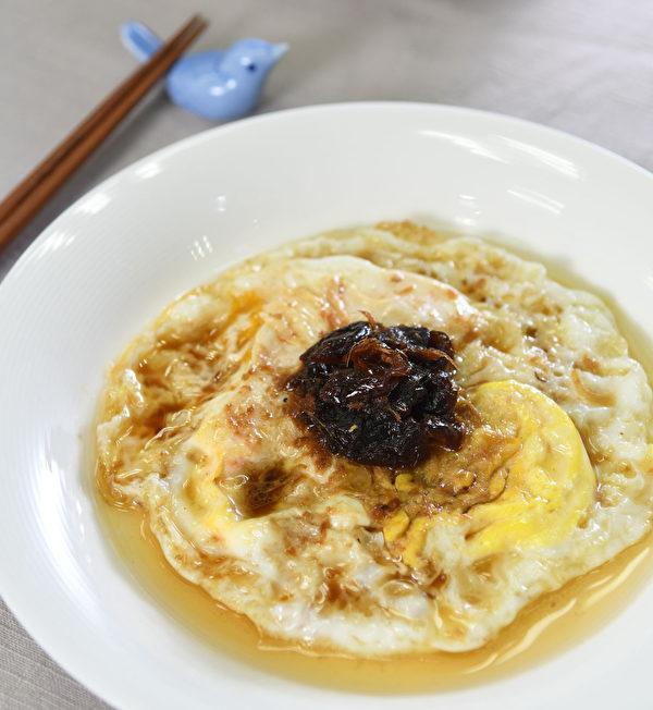 用姜油做的料理:古早味桂圆蛋。(日日幸福提供)