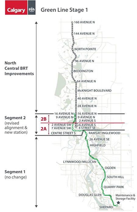 the Green Line, Calgary LRT