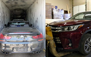 安省盗车案猖獗 高价出口海外