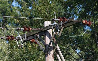 前房主留协议 让电线杆立后院 新房主不满