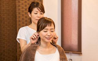 按摩耳朵和臉部 提代謝消浮腫 子宮不適的調養法