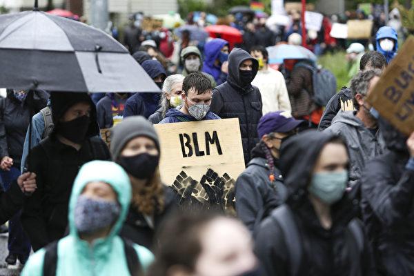 西雅图BLM冲突 45人被捕21警员受伤
