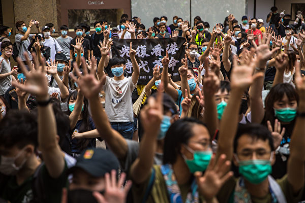 李明洋:香港國安法僅針對「極少數人」?