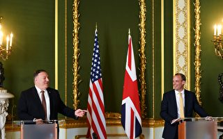 美英聯手 蓬佩奧籲全球聯盟反擊中共