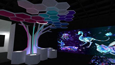 時空探秘展場第三區,夢想未來「奇幻異世界」。