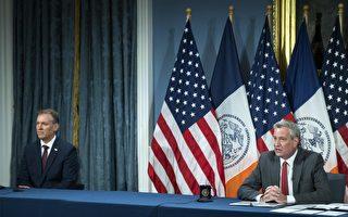 """纽约市长与警局长宣布""""终结枪支暴力计划"""""""