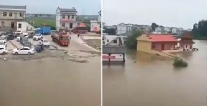 江西遭遇本世紀以來最大洪水 新建區民眾撤離