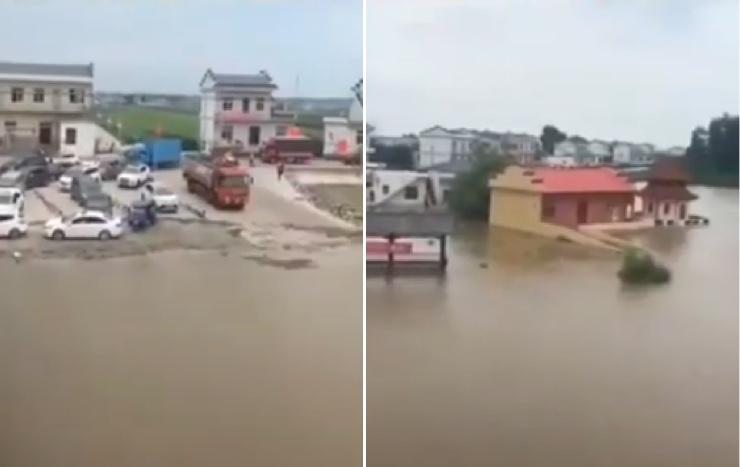 九江崩堤村莊全被淹 災民:甚麼都沒了