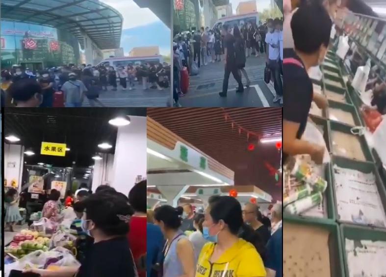 【影片】新疆現確診 交通停運 超市現搶購