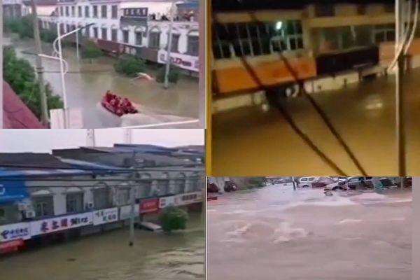秦淮河堤壩內部已被挖空 或隨時崩潰