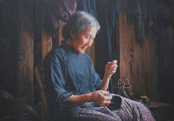 新唐人油画大赛银牌得主魏荣欣举办画展