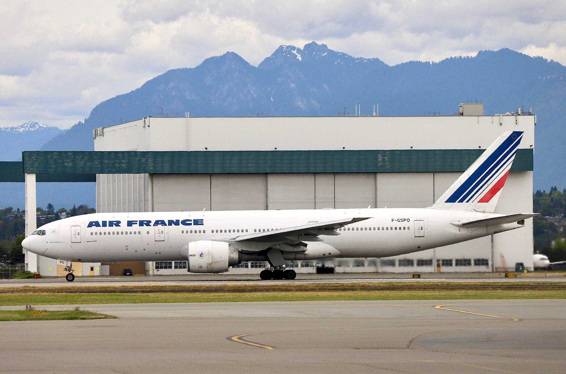 反制中共政策 法國限制中國飛法航班