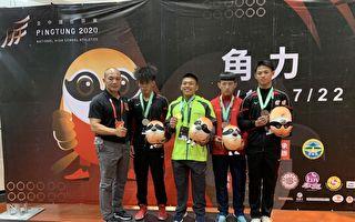 全中運黃守家高男組角力希羅式第五級奪冠