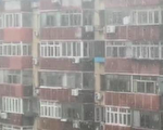7月28日,北京東城區下雪,網民則指當天是庚子年六月初八,六月飛雪,有大冤情。(視頻截圖)