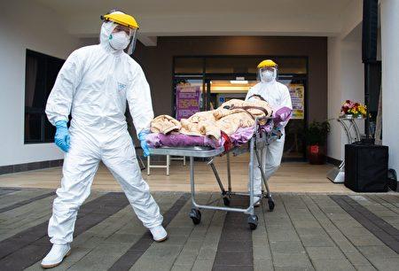 进行后送住民至安全居住处所的操作演练。