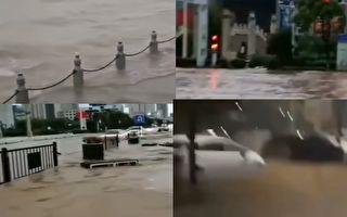 三峡现今年最大洪水 长江南京站水位新高