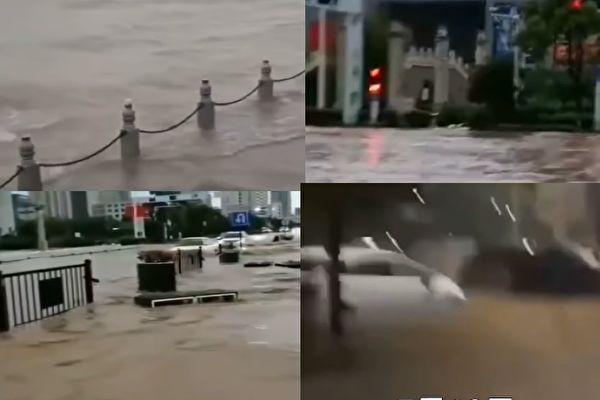 三峽現今年最大洪水 長江南京站水位新高