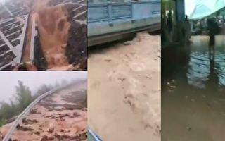 重慶萬州機場路現塌方 1500名遊客滯留