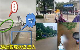 長江漢口站水位超警戒 武漢輪渡全停航