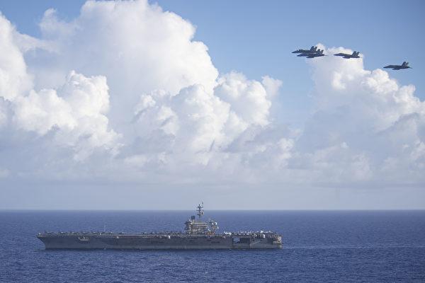 鍾原:美軍雙航母南海釋放強烈信號