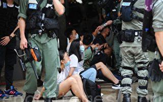 组图:7·1游行前警方四处抓人 30余人被抓