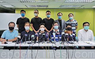 香港民主派批國安法引入人治