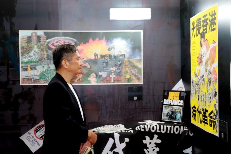 台部長李永得挺香港:民主自由定會戰勝邪惡