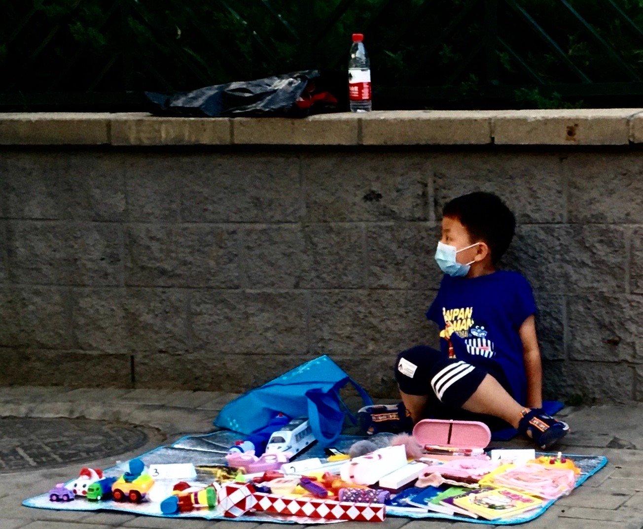 組圖:街頭為家 北京中共肺炎下的艱難民生