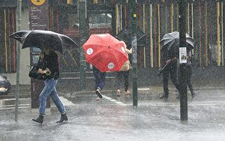 惡劣天氣降臨 新州下週將迎來強風暴雨天氣