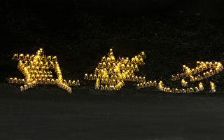 7·20烛光悼念 法轮功学员相信正义必胜