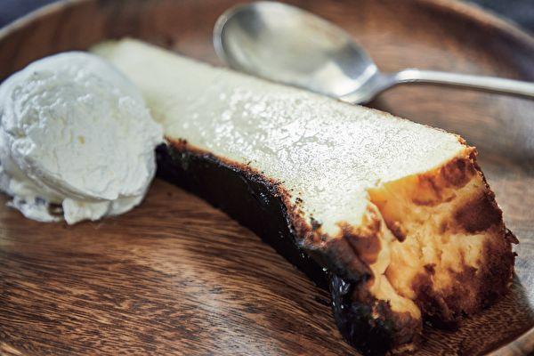 人氣咖啡館甜點~傳統風味巴斯克乳酪蛋糕