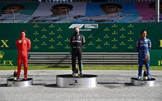F1揭幕:梅奔奥地利站强势 博斯塔捧杯