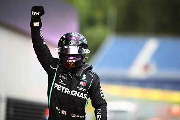 梅賽德斯車手漢密爾頓