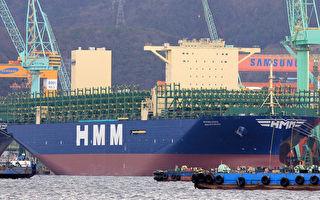 不受疫情影響 全球最大貨櫃輪相繼泊高雄港