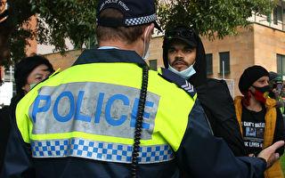 悉尼BLM抗议组织者等6人被捕 众跟从者离场