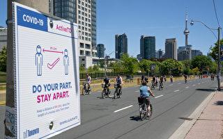 关注骑车者安全 多伦多警方开展道路安全周活动