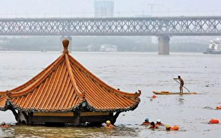 大陸52條河仍超警 長江武漢段或現複式洪峰