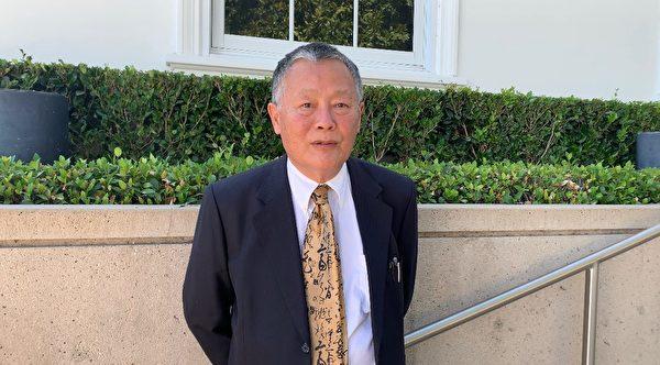 中國民主運動海外聯席會議主席魏京生。(姜琳達/大紀元)