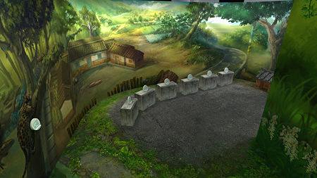 時空探秘展場第二區,省思現代「變異的福爾摩沙」。