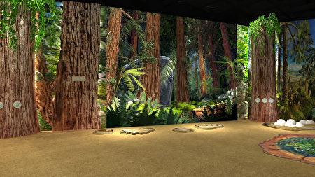 時空探秘展場第一區,探索遠古「恐龍大滅絕」。