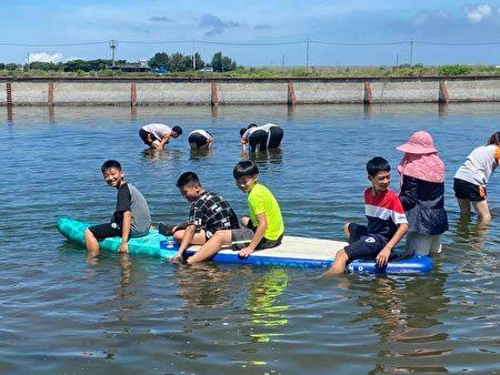 弱势学童开心体验渔民生活