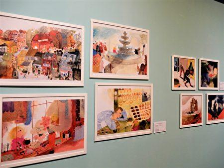 文化部文化資產園區即日起至8月23日,舉辦「照亮夢境─義大利波隆那插畫家聯展」。