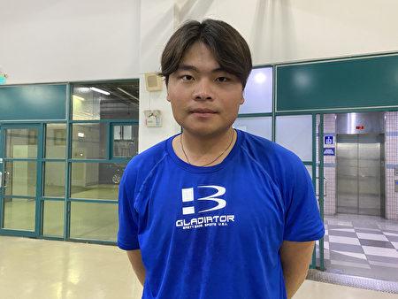翁緯喬在測試會投出146公里球速。